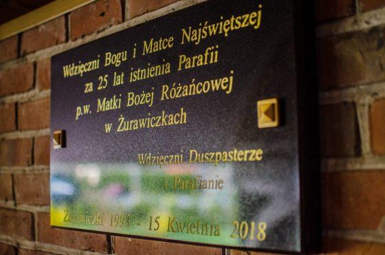 25 lat Parafii MB Różańcowej w Żurwiczkach