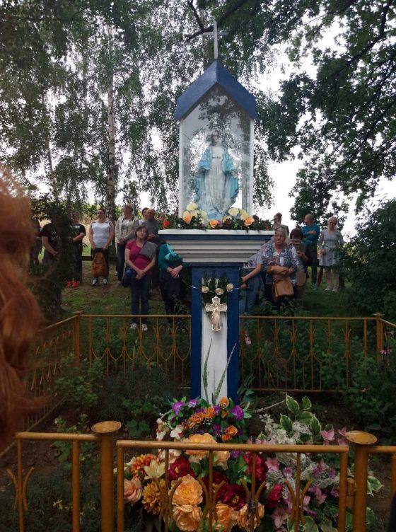 Pielgrzymka do Kapliczki Matki Bożej na Kocowo