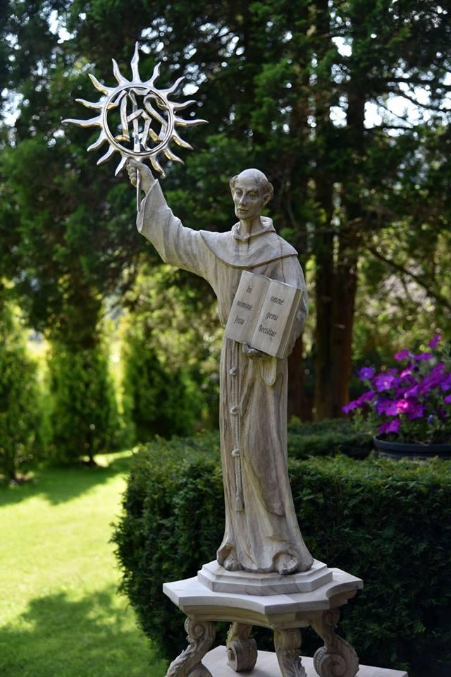 LIst Kustosza Relikwii św. Bernardyna ze Sieny przed nawiedzeniem.
