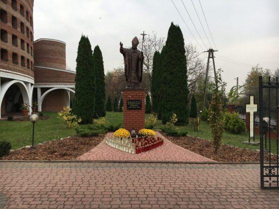 Modernizacja zieleni wokół klasztoru i kościoła 18 – 19 października 2018