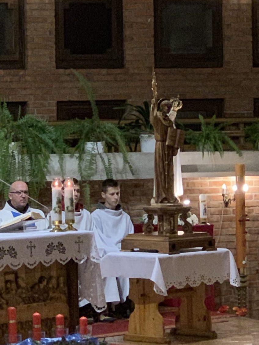Nawiedzenie parafii przez relikwie św. Bernardyna ze Sieny i rekolekcje Adwentowe 7-9 grudnia 2018